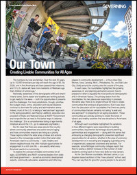 Our Town: Creating Livable Communities for All Ages