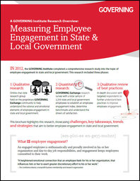Measuring Employee Engagement in State and Local Government