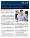 Meeting Public Records Requests in Government: Best Practices for Selecting Document Management Solutions