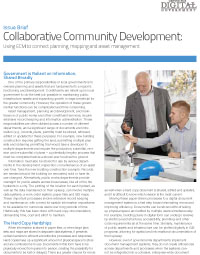 Collaborative Community Development: Using ECM to connect planning, mapping and asset management