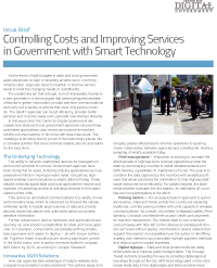 Controlling Costs and Improving Services in Government with Smart Technology