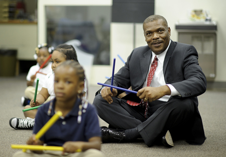 Superintendent of the Kansas City Missouri School District Dr. John Covington. Photo by Steve Puppe.