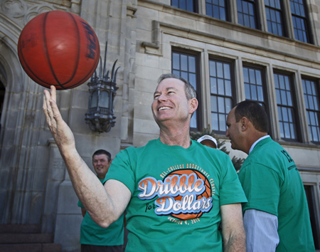 Oklahoma City Mayor Mick Cornett