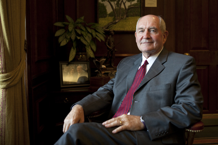 Georgia Governor Sonny Perdue, 2010 Public Official of the Year