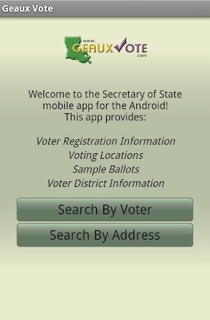 Louisiana App Helps Users 'Geaux Vote'
