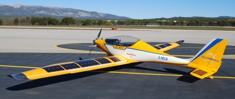 Elektra One solar-powered aircraft