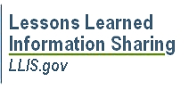 Lessons Learned Information Sharing (LLIS)
