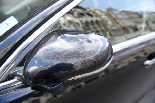 Man's car is said to have been melted by the glass from windows on a London skyscaper