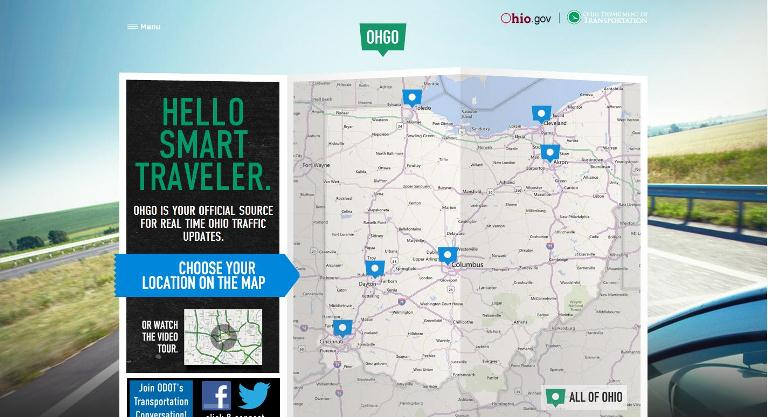Ohio Goes With Revamped Traffic Site