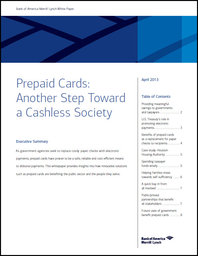 Prepaid Cards: Another Step Toward a Cashless Society