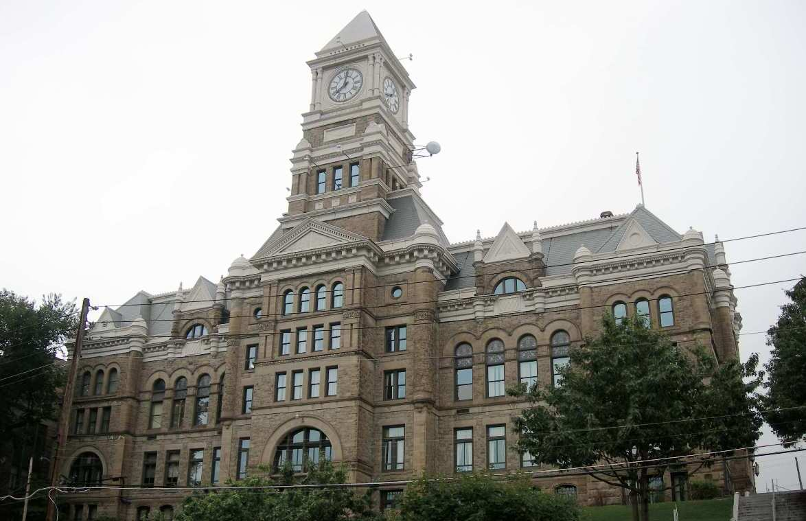 Schuylkill County Courthouse in Pottsville, Pennsylvania