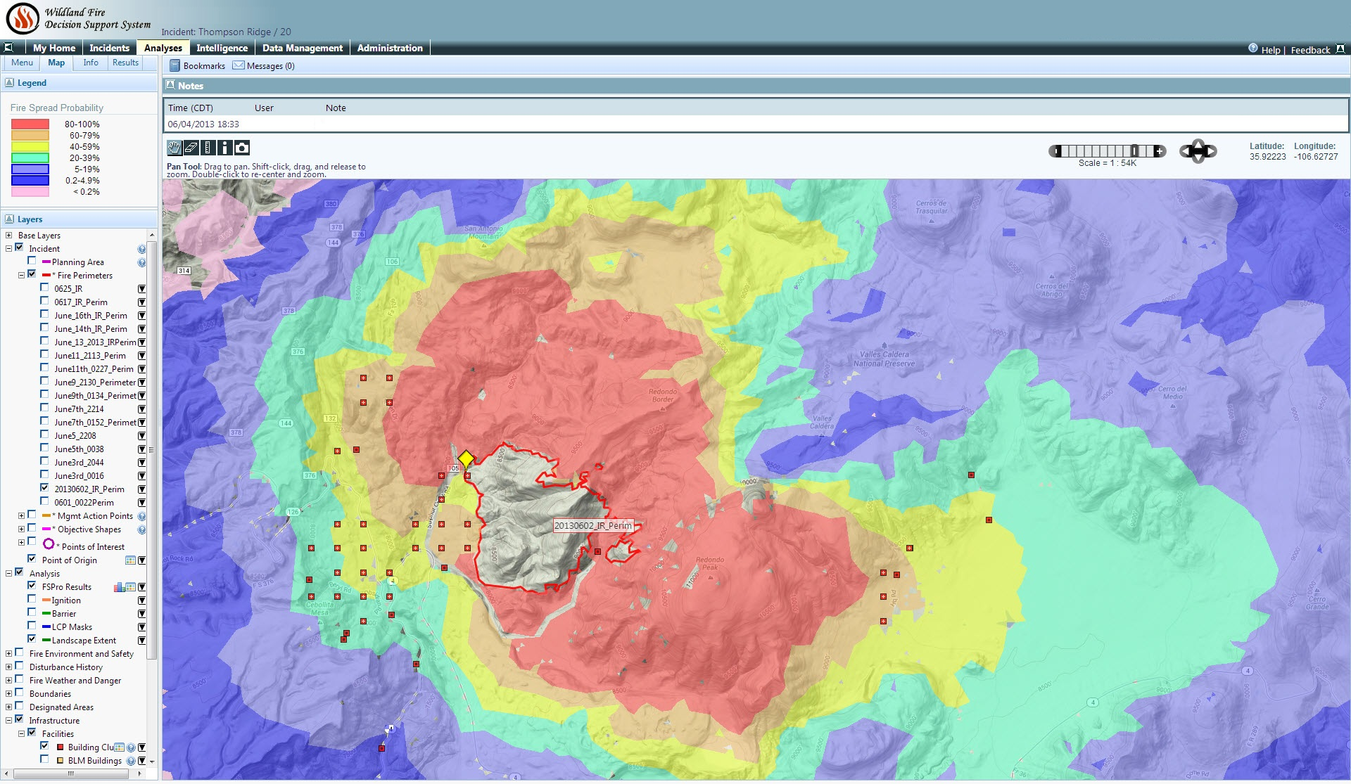 High Park Fire Map.Data Sharing Leads To Powerful Tools For Fighting Fire