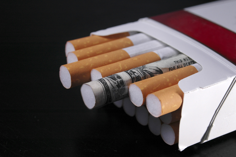 essay on cigarette taxes L 85-859 substituted on each book or set of cigarette papers containing more than 25 papers all provisions of law, including penalties, applicable with respect to the taxes imposed by section 5701 of such code shall.