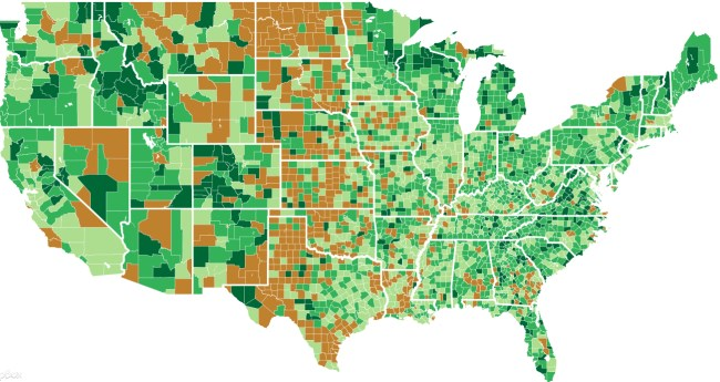 New Census Estimates Show Areas Growing Oldest The Fastest - Us census map by race