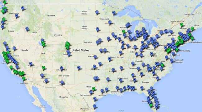 Report Travel Tourism Workers Cant Afford Housing In Costly - View House Prices On Map In Us