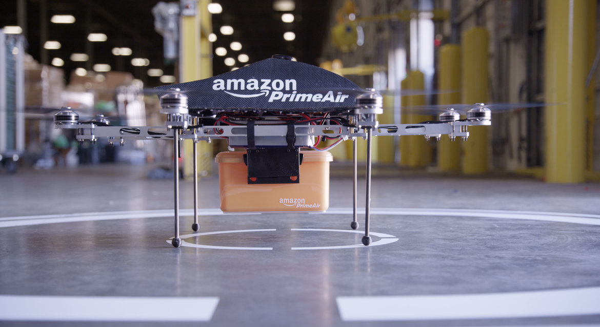 Amazon+PrimeAir+drone